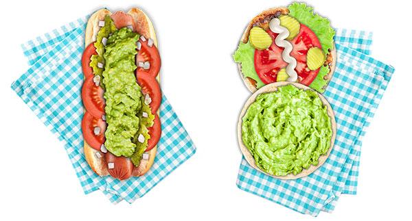 Burger and Hotdog