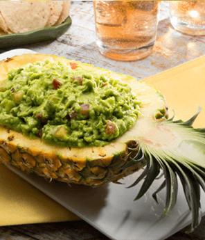 Holy Pineapple Guacamole