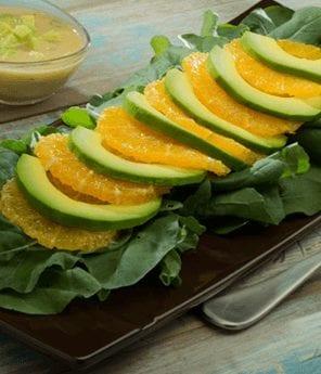 Avocado Citrus Salad with Dijon Avocado Vinaigrette Recipe
