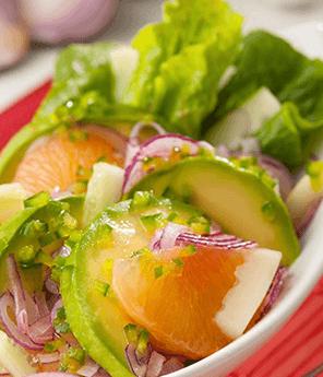 Avocado & Cucumber Grapefruit Salad