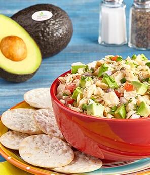 Avocado Codfish Salad