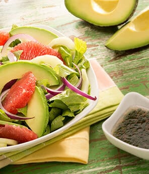 Avocado & Cucumber Grapefruit Salad