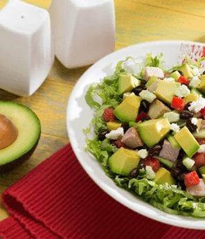 Hearty Pork, Avocado, and Black Bean Salad