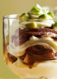Avocado Chocolate Mousse Parfait