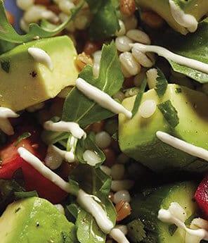 Avocado Grains & Greens