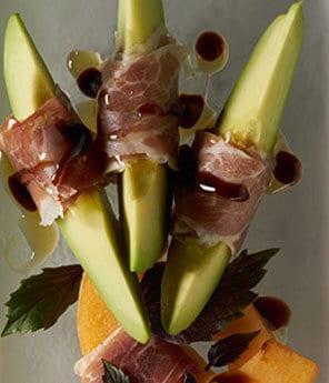 Serrano Ham-Wrapped Salad