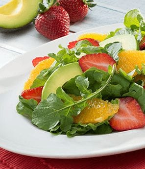 Avocado Summer Berry Citrus Salad