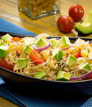 Mediterranean Avocado Pasta Salad