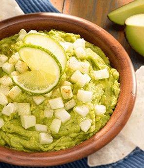 Fresh Cucumber Guacamole