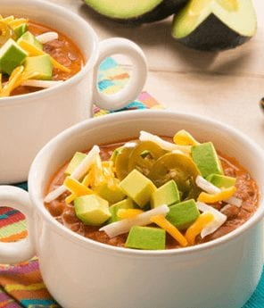 Mex-Tex Three Cheese & Avocado Chili Dip