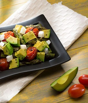 Avocado, Asparagus, Artichoke Hearts & Hearts of Palm Salad