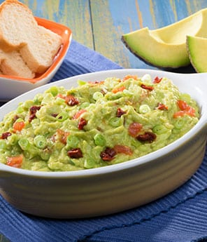 Roasted Tomato and Chipotle Guacamole