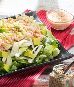 Chipotle Surimi, Jicama and Avocado Salad
