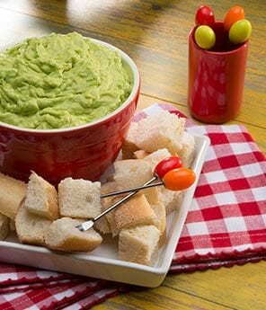 Pat's Avocado Bread Dip
