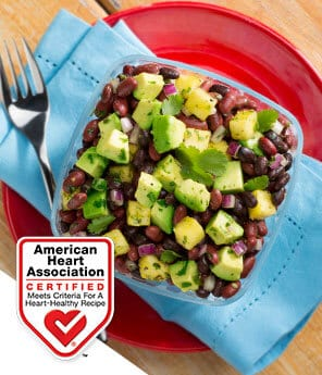 Bean, Avocado, and Pineapple Salad