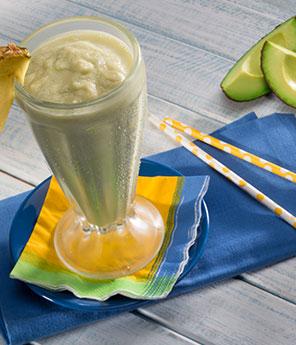 Avocado Pineapple Milkshake