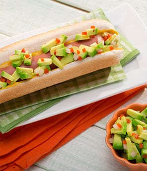 Avocado Hot Dog Relish