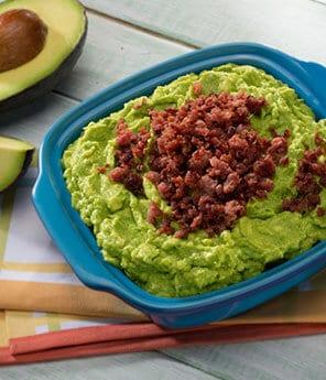 Chorizo and Chipotle Guacamole
