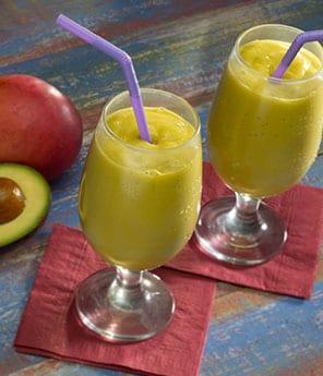 Dairy-Free Mango Avocado Smoothie