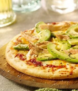 Avocado Turkey Pizza