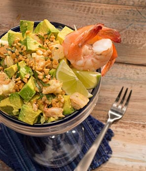 Nutty Shrimp and Cashew Guac