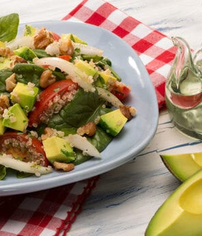 Quinoa Salad with Tomato and Avocados