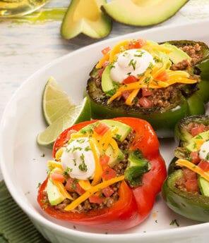 """Bell Pepper """"Tacos"""""""