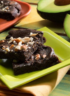 Brownie de Chocolate y Aguacate