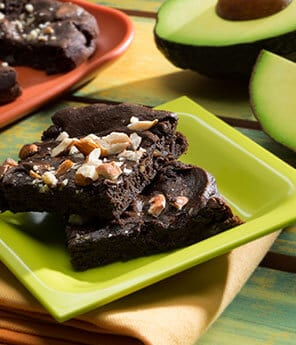Chocolate Avocado Brownies