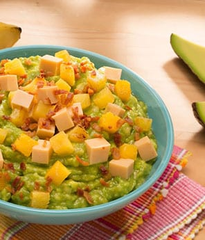 Banana Chipotle Jelly Guacamole