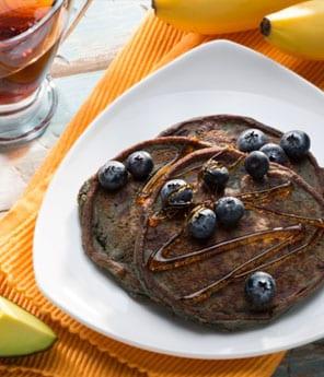 Flour-less Avocado Pancakes