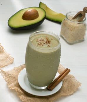 5-Minute Avocado Horchata