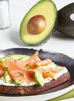 Smoked Salmon Avocado Toast