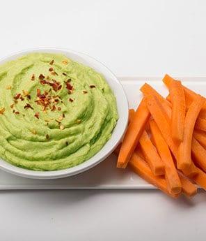 Green Avocado Hummus