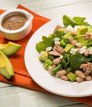 Tuna, Avocado, and White Bean Salad