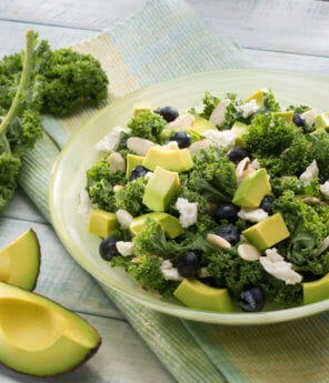 Superfood Green & Blue Avocado Salad