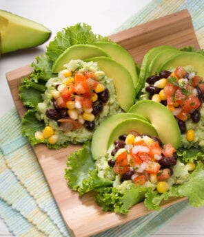 Black Bean Lettuce Cups