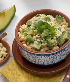 Mexican Corn Salad with Avocado