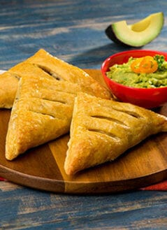 Puff Pastry Turnover with Avocado