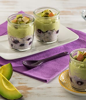 Swiss-Style Avocado and Fruit Muesli