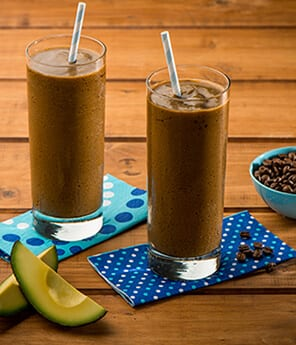 Indonesian-Style Avocado Coffee Milkshake