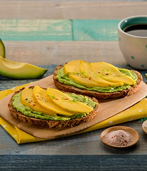 Spicy Mango Lime Avocado Toast