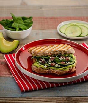 Greek-Inspired Avocado Sandwich