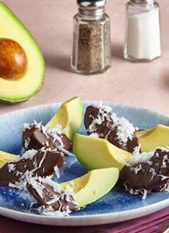 Avocado and Coconut Chocolates