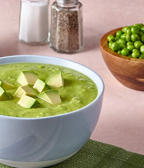 Avocado and Pea Soup