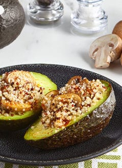 Avocados Stuffed with Quinoa