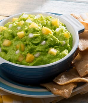Tomato Guacamole with Pineapple