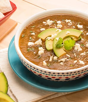 Wide Chile Soup