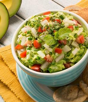Mint & Cucumber Guacamole