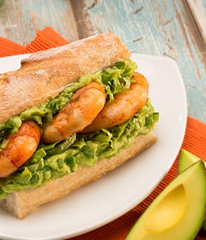 Shrimp & Avocado Sandwiches